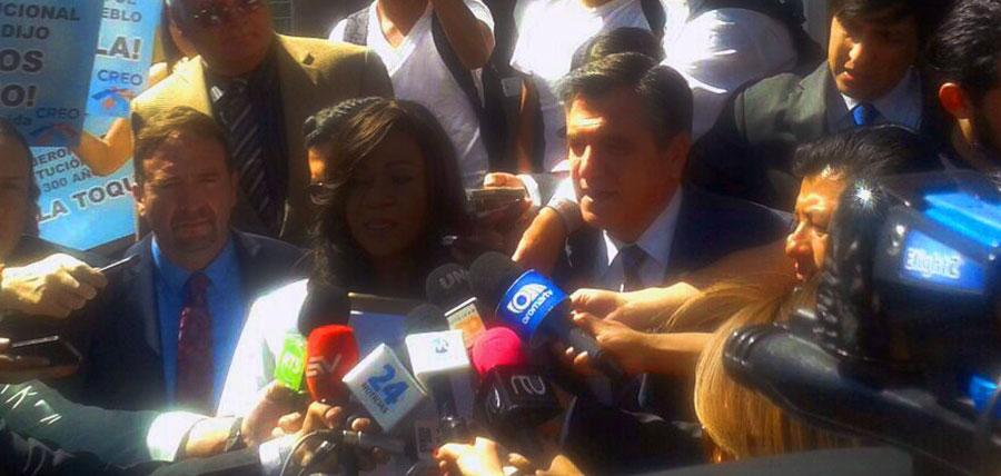 Movimiento CREO frente a la Corte Constitucional para frenar Reelección Indefinida