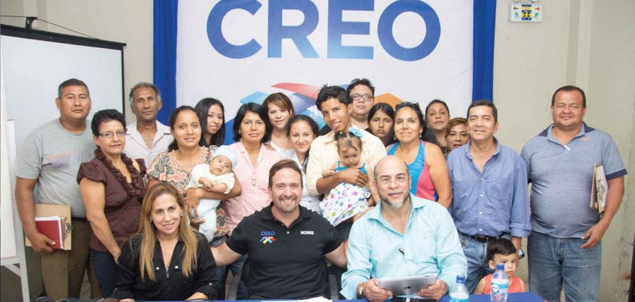 Mujeres CREO Guayaquil concluye un ciclo de capacitación