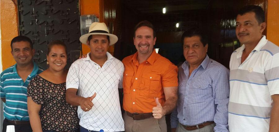 Movimiento CREO recorre Mocache, Valencia y Buena Fe
