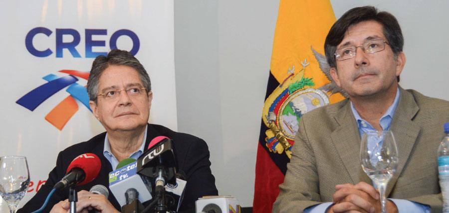 Lasso y Montúfar sellan acuerdo democrático