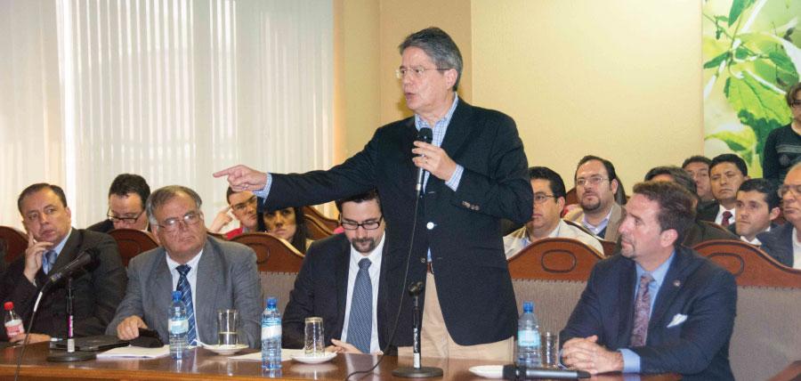 Lasso defiende en la Corte Constitucional el llamado a Consulta Popular