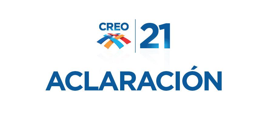 CREO no formó parte del grupo que se manifestó frente a la Contraloria General del Estado