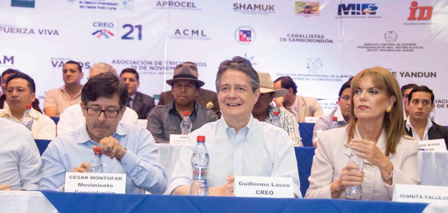 """Organizaciones Proconsulta se unen en nuevo frente """"Compromiso Ecuador"""""""