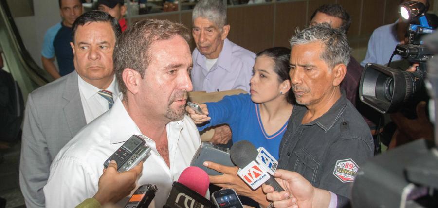 Jueza anunciará por casillero la sentencia contra César Monge