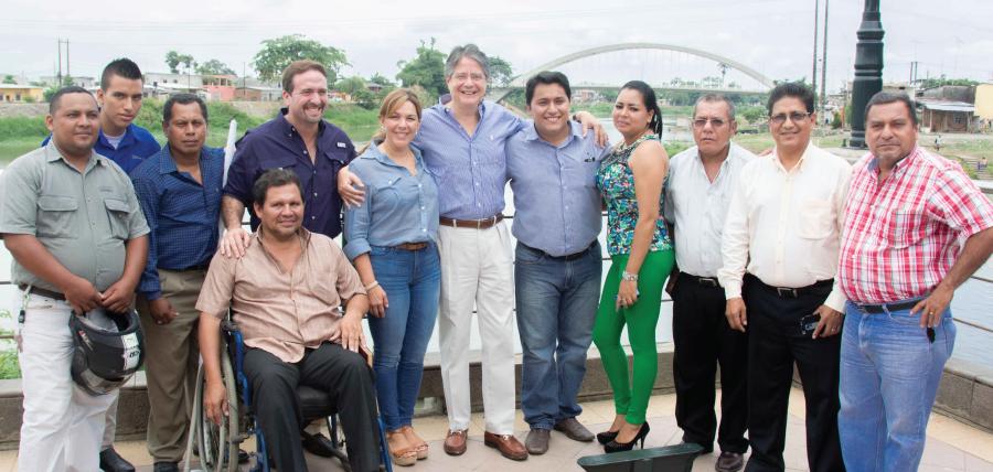 10 nuevas directivas cantonales de CREO, posesionadas en Los Ríos