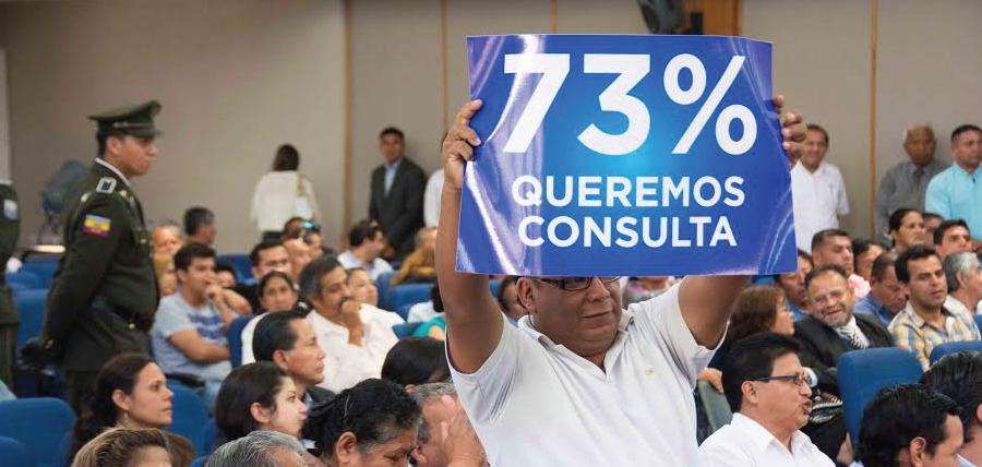 Compromiso Ecuador defendió la Consulta Popular durante la sesión de la Comisión de enmienda constitucional