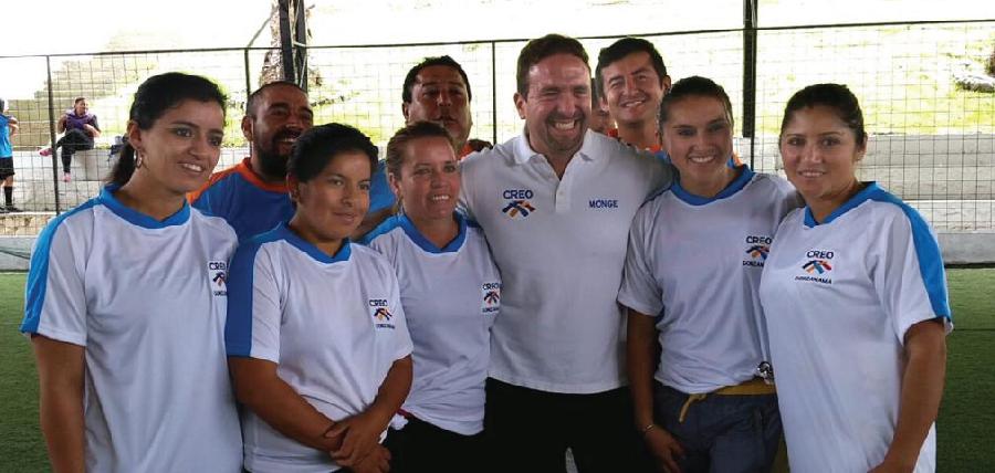 CREO Loja realizó jornada deportiva