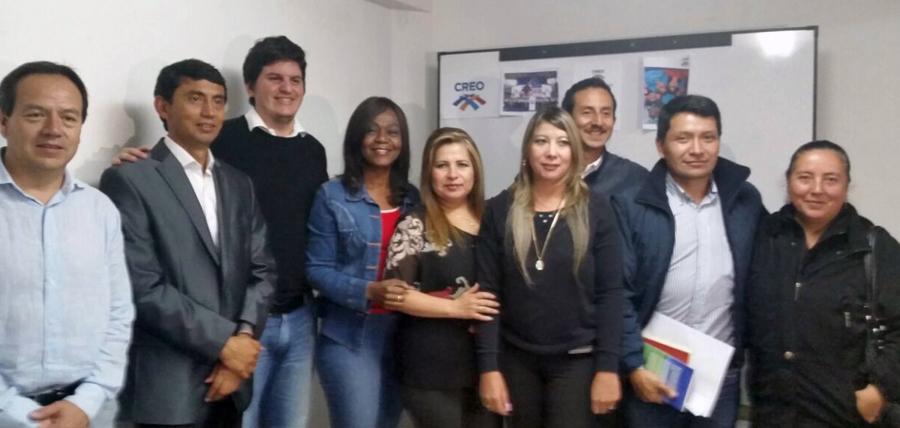 Evento juntó a las bases de Jóvenes CREO y Mujeres CREO en Tungurahua.