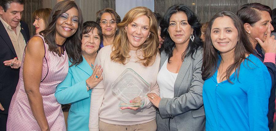 María de Lourdes Alcívar participó en el primer encuentro de Mujeres CREO