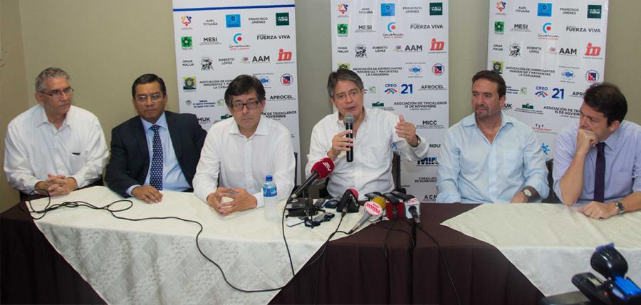 """Compromiso Ecuador: """"Al CNE no le queda más alternativa que entregar los formularios"""""""