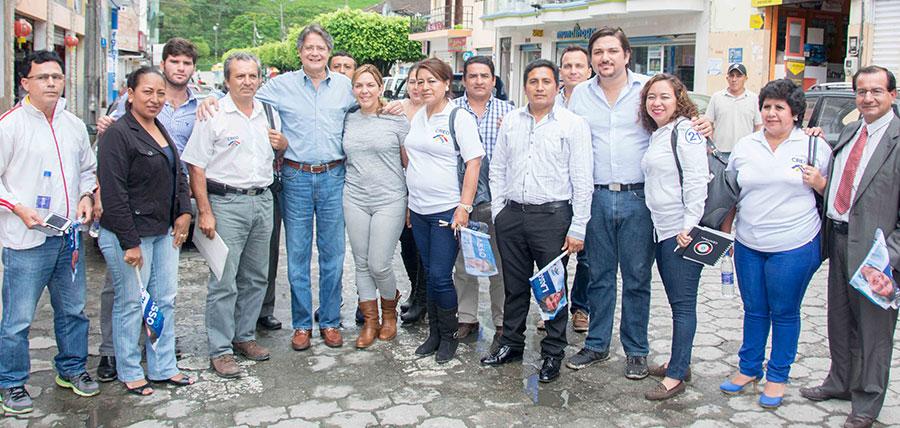 Lasso agradece apoyo de Zamora Chinchipe y posesiona directivas