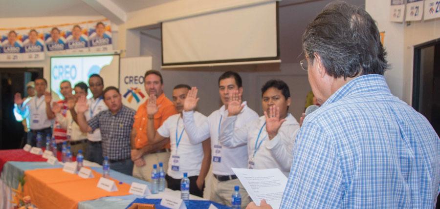 El cantón Quevedo ya cuenta con directivas parroquiales de CREO