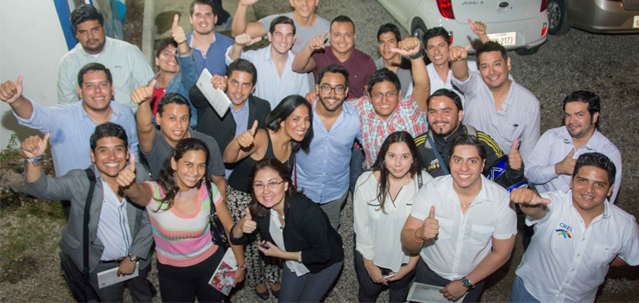 Los jóvenes CREO dieron la bienvenida a nuevos integrantes