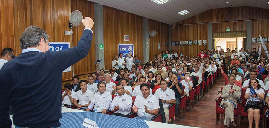 Guillermo Lasso fortalece estructuras en Loja