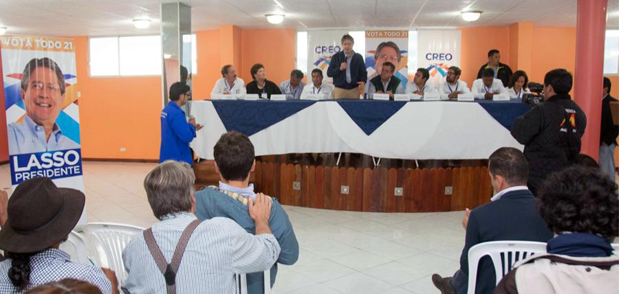 El cantón Mejía ya tiene directivas parroquiales de CREO