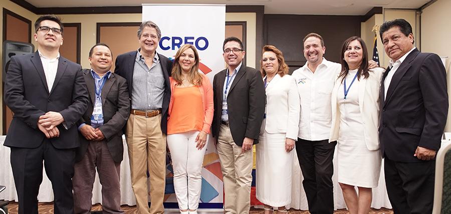 Lasso posesiona a directivas de CREO en USA