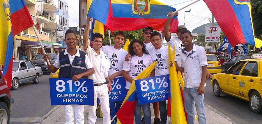 Jóvenes CREO inicia actividades de Apoyo a Consulta Popular