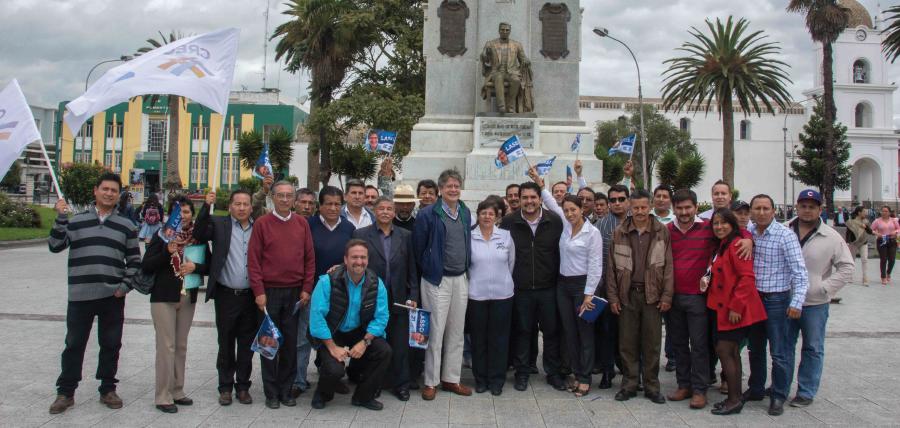 CREO Cotopaxi posesionó a sus directivos en la provincia