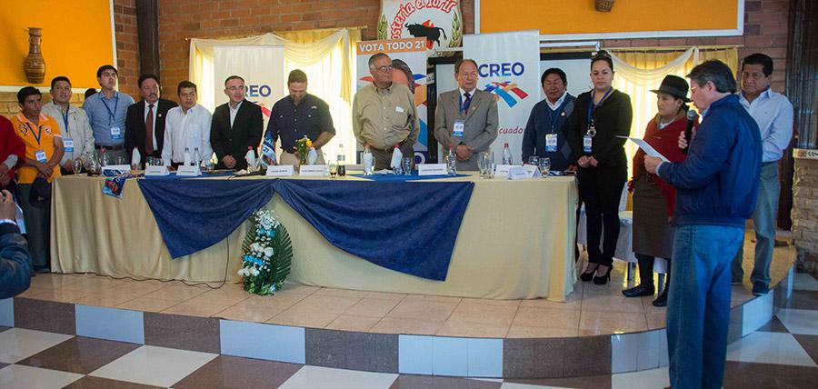 Lasso posesiona directivas en Chimborazo