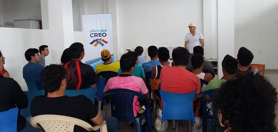 Jóvenes CREO fortalece sus bases en la amazonía ecuatoriana
