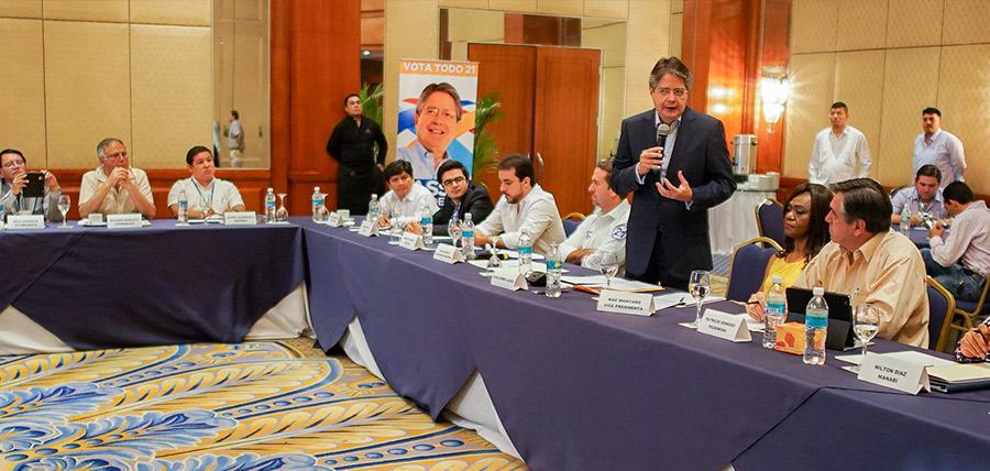 CREO realiza reunión de fortalecimiento en Guayaquil