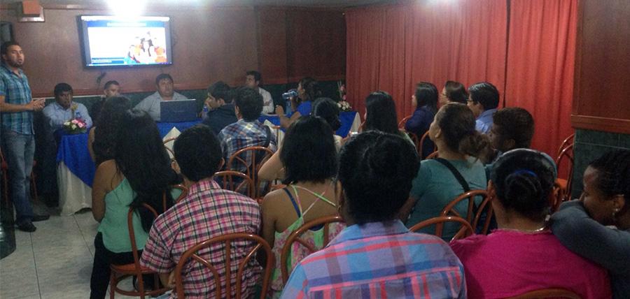 Jóvenes CREO Cañar dan bienvenida a nuevos miembros en La Troncal