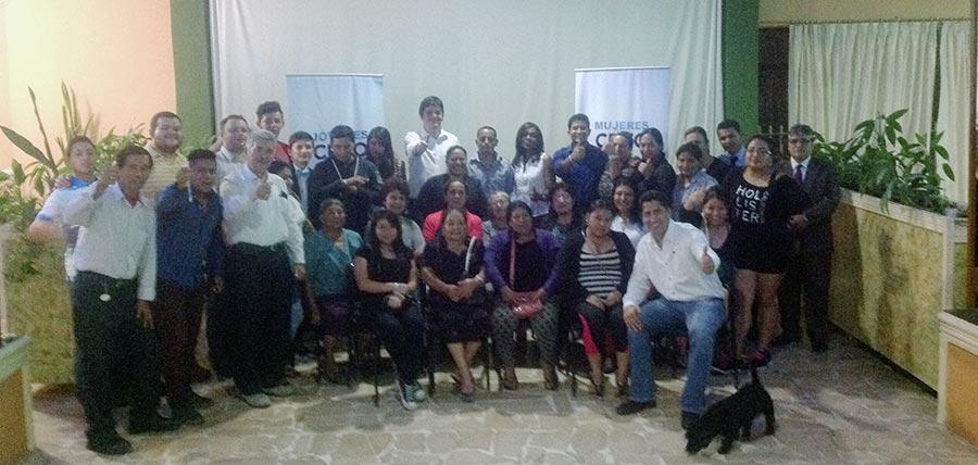 Fortalecimiento de Jóvenes y Mujeres CREO continúa en Morona Santiago