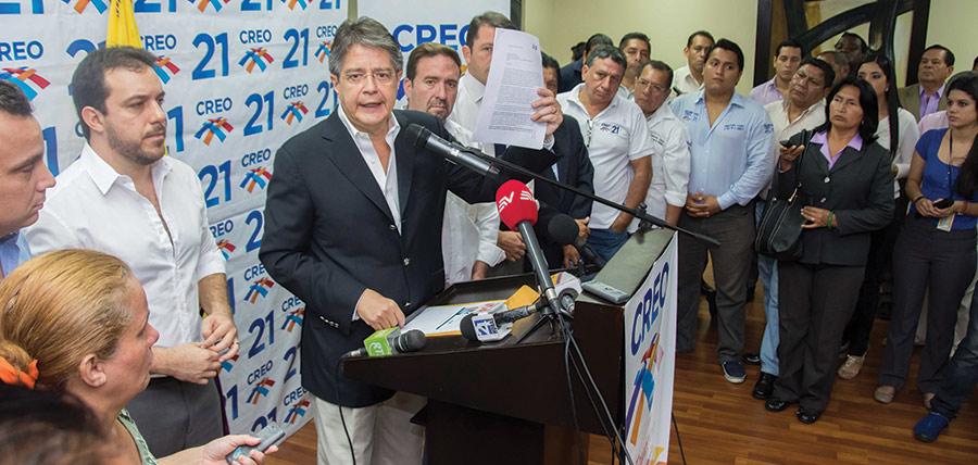 Guillermo Lasso apuntala fortalecimiento de CREO en Manabí