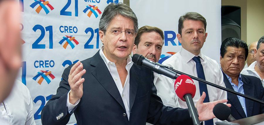 Guillermo Lasso traza la ruta de acciones de  la oposición