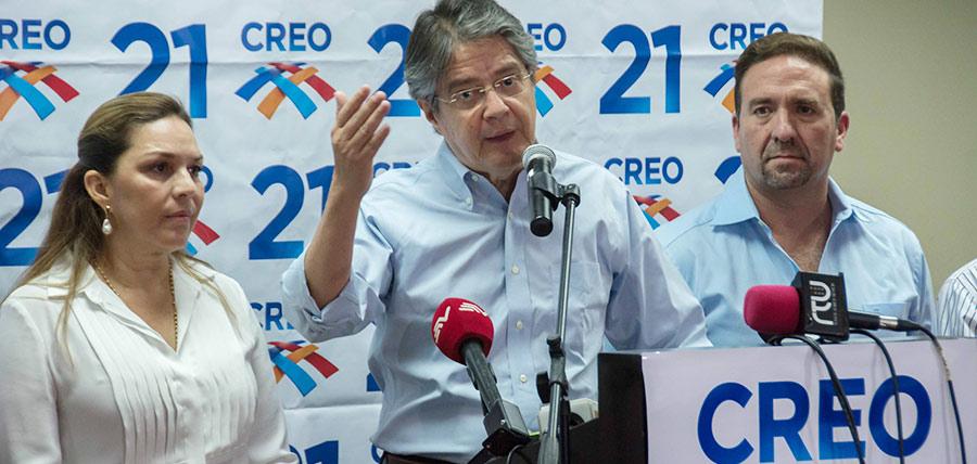 Guillermo Lasso advierte no bajar la guardia a los ecuatorianos