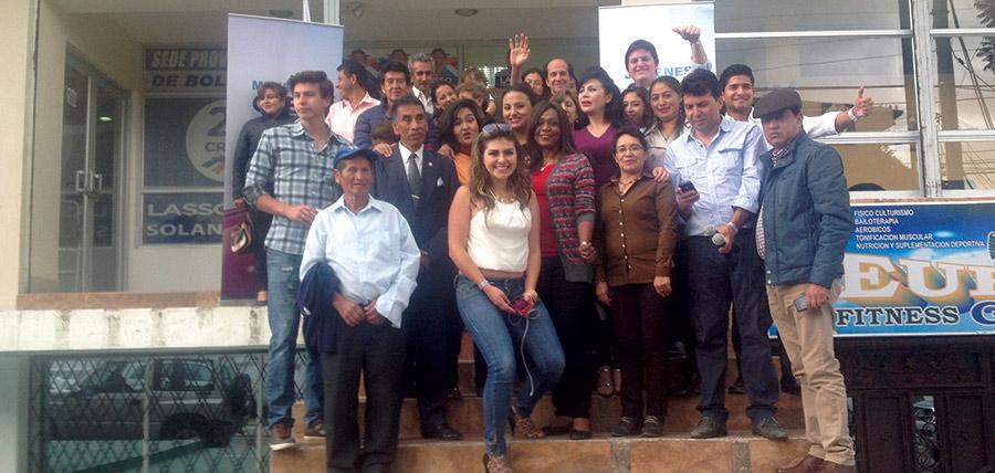 Jóvenes CREO y Mujeres CREO sigue su crecimiento nacional en la provincia de Bolívar