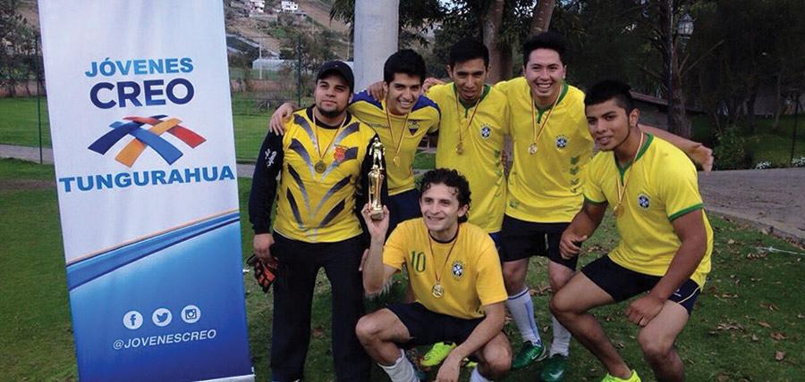 Jóvenes CREO Tungurahua organizan Copa Relámpago