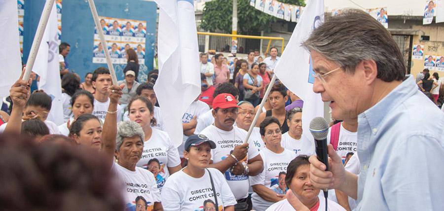 Guillermo Lasso posesiona directivas de recintos de Jujan