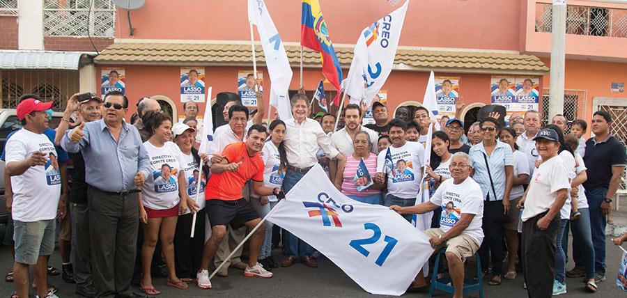 Lasso inauguró Comités Barriales en Guayaquil y posesionó Directivas Parroquiales en Durán