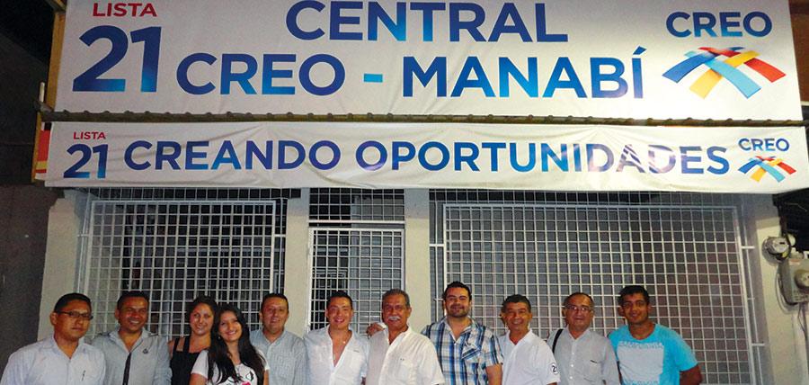 Jóvenes CREO Pichincha y Manabí intercambian experiencias