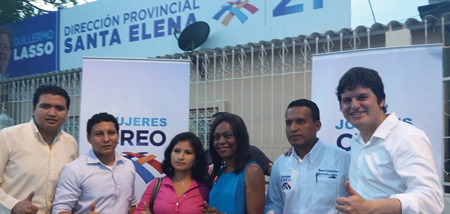 Jóvenes CREO continúa su crecimiento en la provincia de Santa Elena
