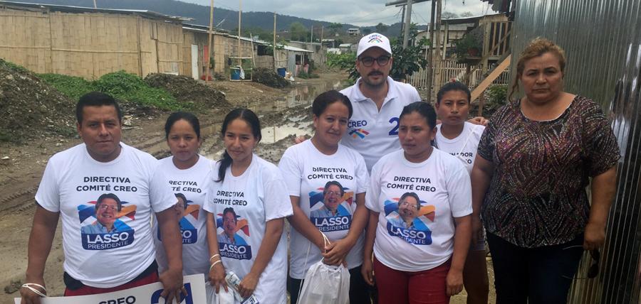 CREO crece en los Barrios de Guayaquil