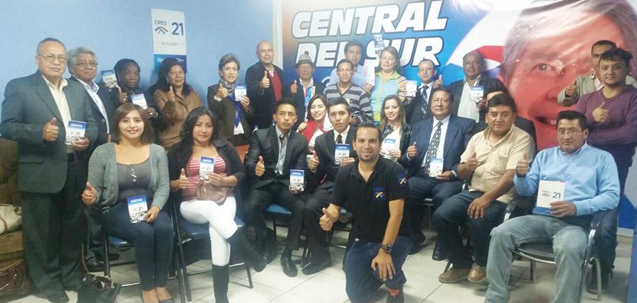 Sobre temas electorales se capacitó a la directiva de  Chillogallo en Pichincha.
