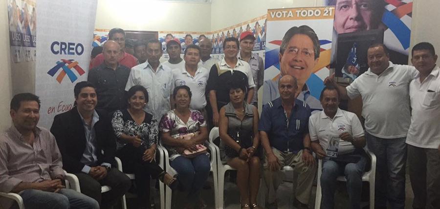 Planificando el trabajo en Orellana, con miras al segundo Encuentro de Estructura Territorial que prepara CREO