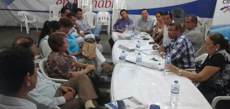 La directiva de Manabí realizo su reunión mensual del comité estratégico territorial