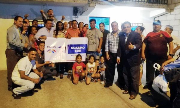 Desde el Guasmo Sur CREO posesiona a su nueva directiva territorial
