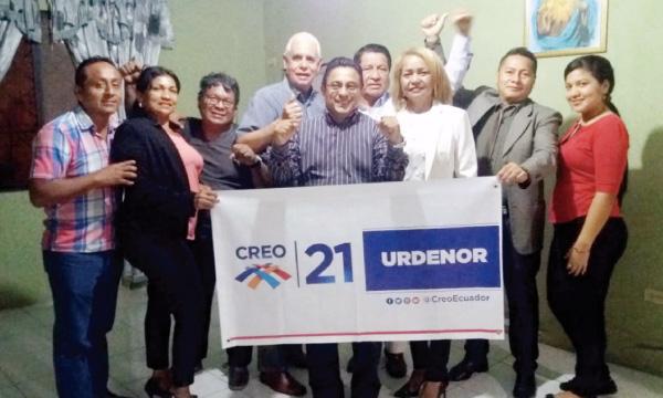 En Guayaquil CREO se fortalece y empodera a su Directiva Territorial de Urdenor
