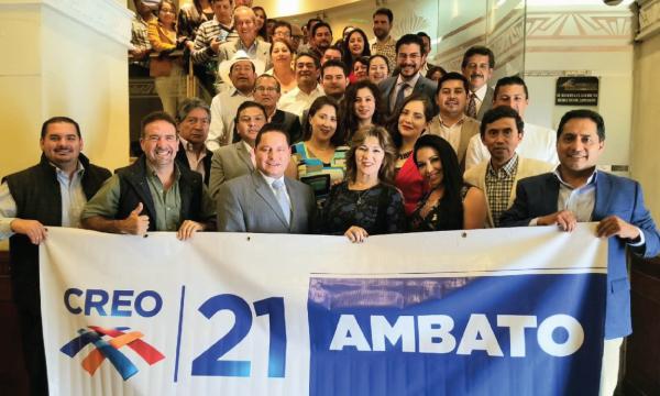 Ambato posesiona a su equipo Cantonal dentro del trabajo territorial nacional
